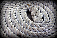 'Round and Round' - Rope from the tall ship 'El Galeon'