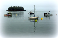 'Misty Morning in Maine' - Lubec, Maine