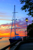 'Sunrise on the Yacht' - Newburyport, MA