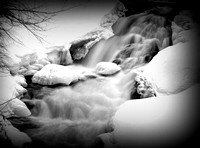 'Winter Waterfall' - Powow River - Amesbury, MA