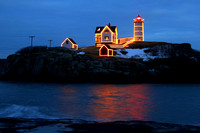 'The Nubble in Blue' - York, Maine