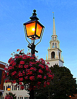 Church and Lantern - Newburyport,, MA