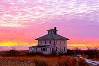 'Pretty in Pink 2' - The Pink House - Plum Island, MA