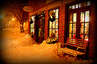 December Night in Newburyport - Newburyport, MA