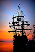 El Galeon at Sunrise - Newburyport, MA