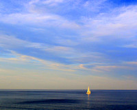 'Sailboat by the Sea' - Ogunquit, Maine